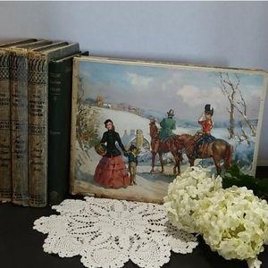 Huntley & Palmers Ltd Antique Tin